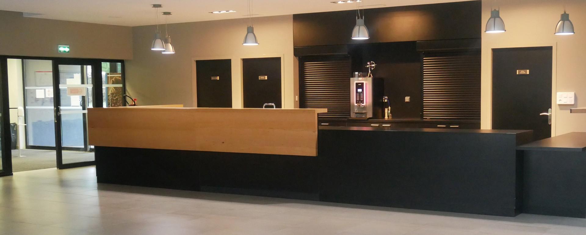 Bar de la salle Halle des Orgues à Espaly