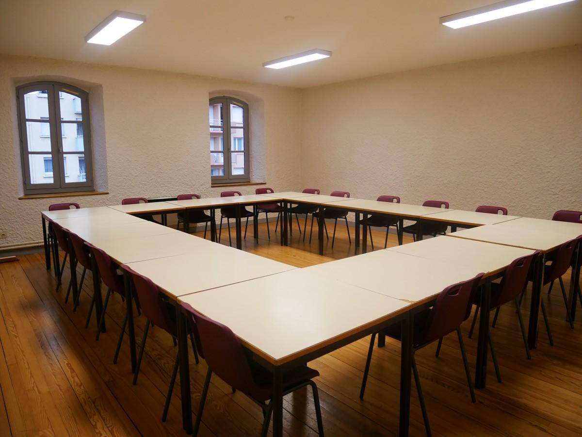 Salle 203 du Centre Roger Fourneyron