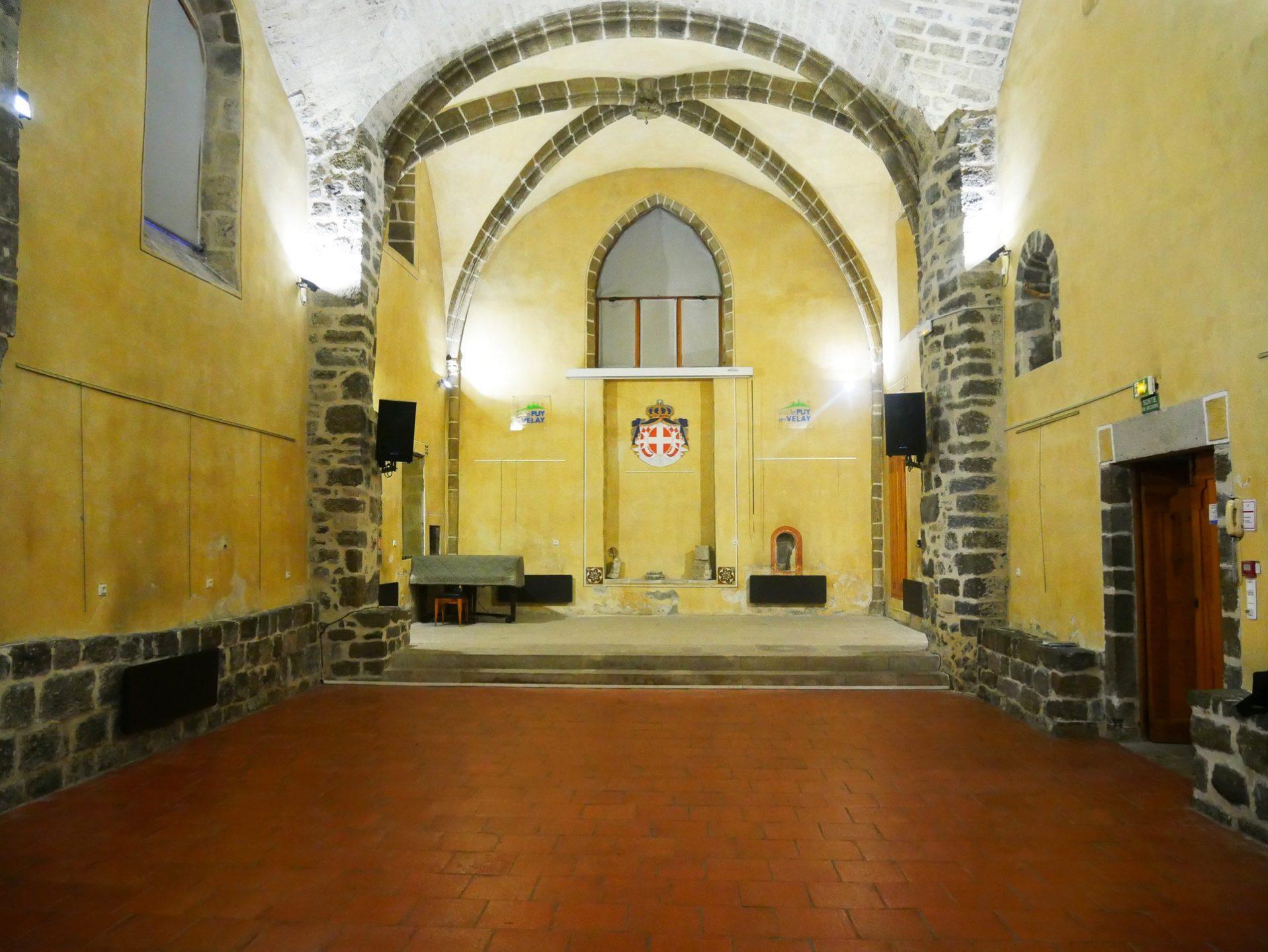 Salle de la Commanderie Saint-Jean au Puy-en-Velay